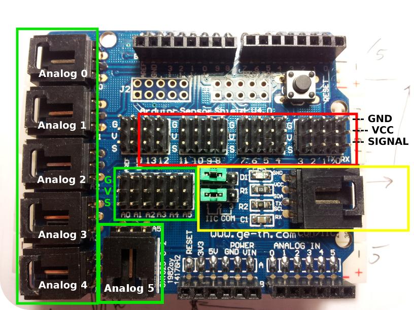 Arduino Playground - AnalogPins