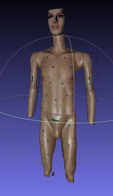 Рис. 2 Пример 3D-реконструкции